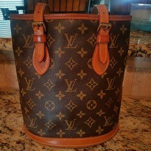 Louis Vuitton Petit Bucket Bag
